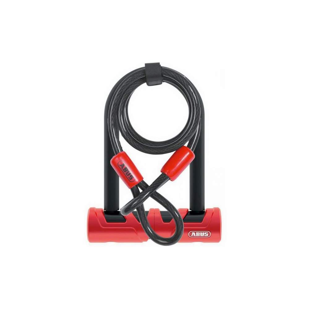 Велозамок U-подобный Abus 420/150HB140 Ultimate USH + Cobra 10/120