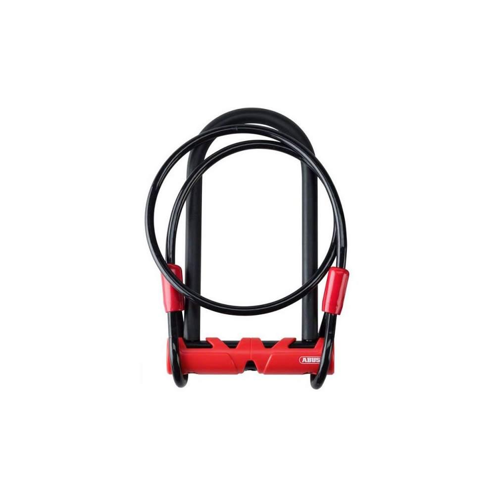 Велозамок U-подобный Abus 420/170HB230 Ultimate USH + Cobra 10/120
