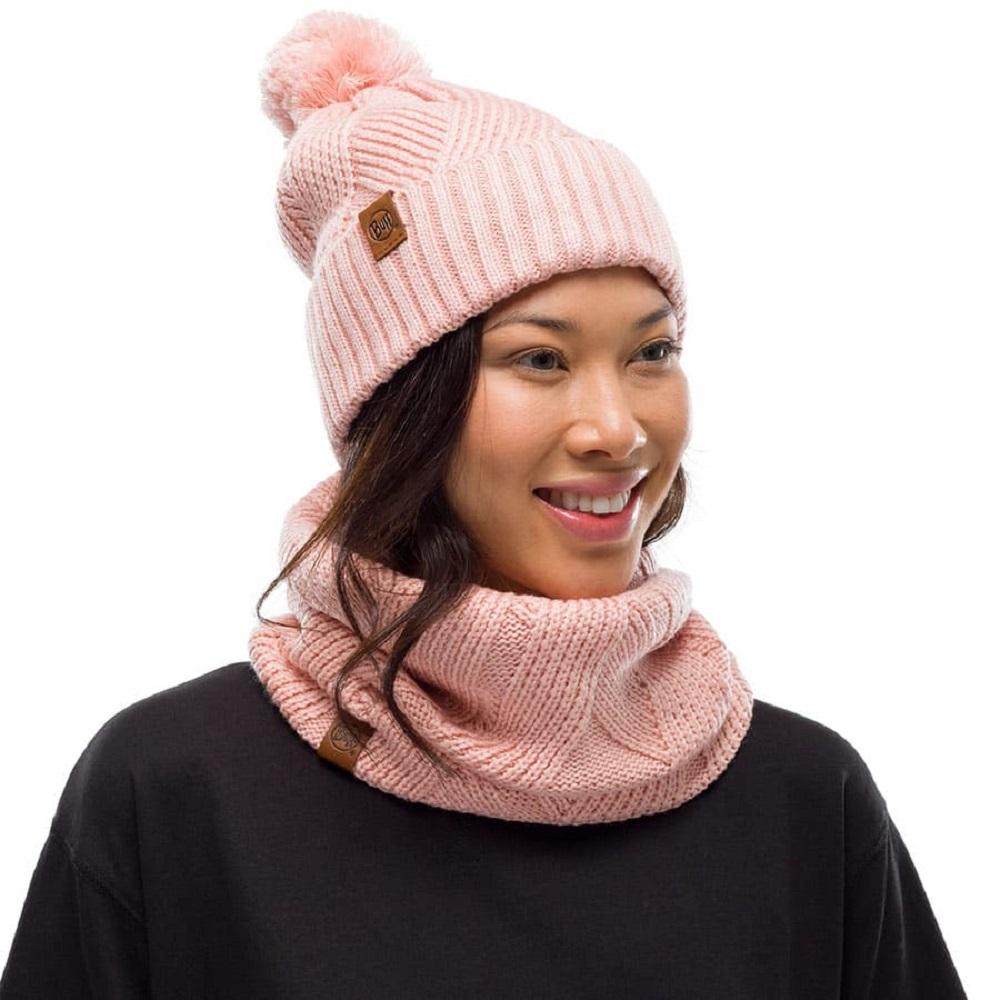 Бафф Buff Knitted and Fleece Neckwarmer Raisa