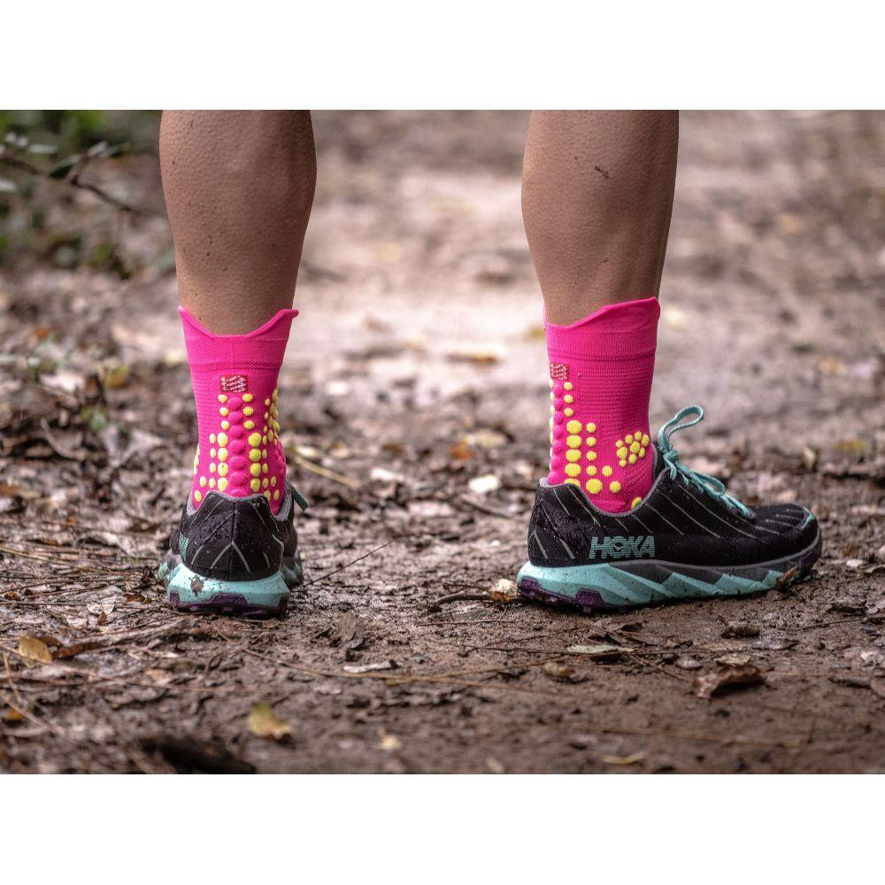 Шкарпетки Compressport Pro Racing Socks V3.0 Trail Fluo