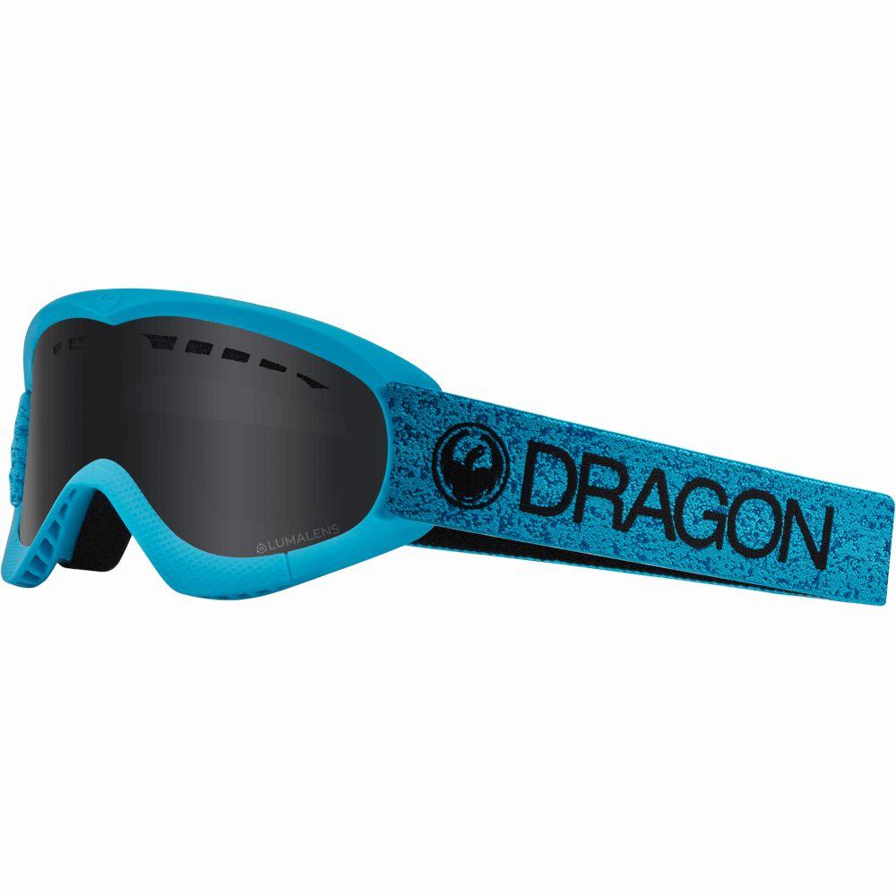 Маска Dragon DXS Blue/Dark Smoke