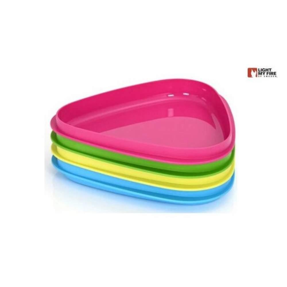 Набор посуды Light My Fire StackPlate 4-pack