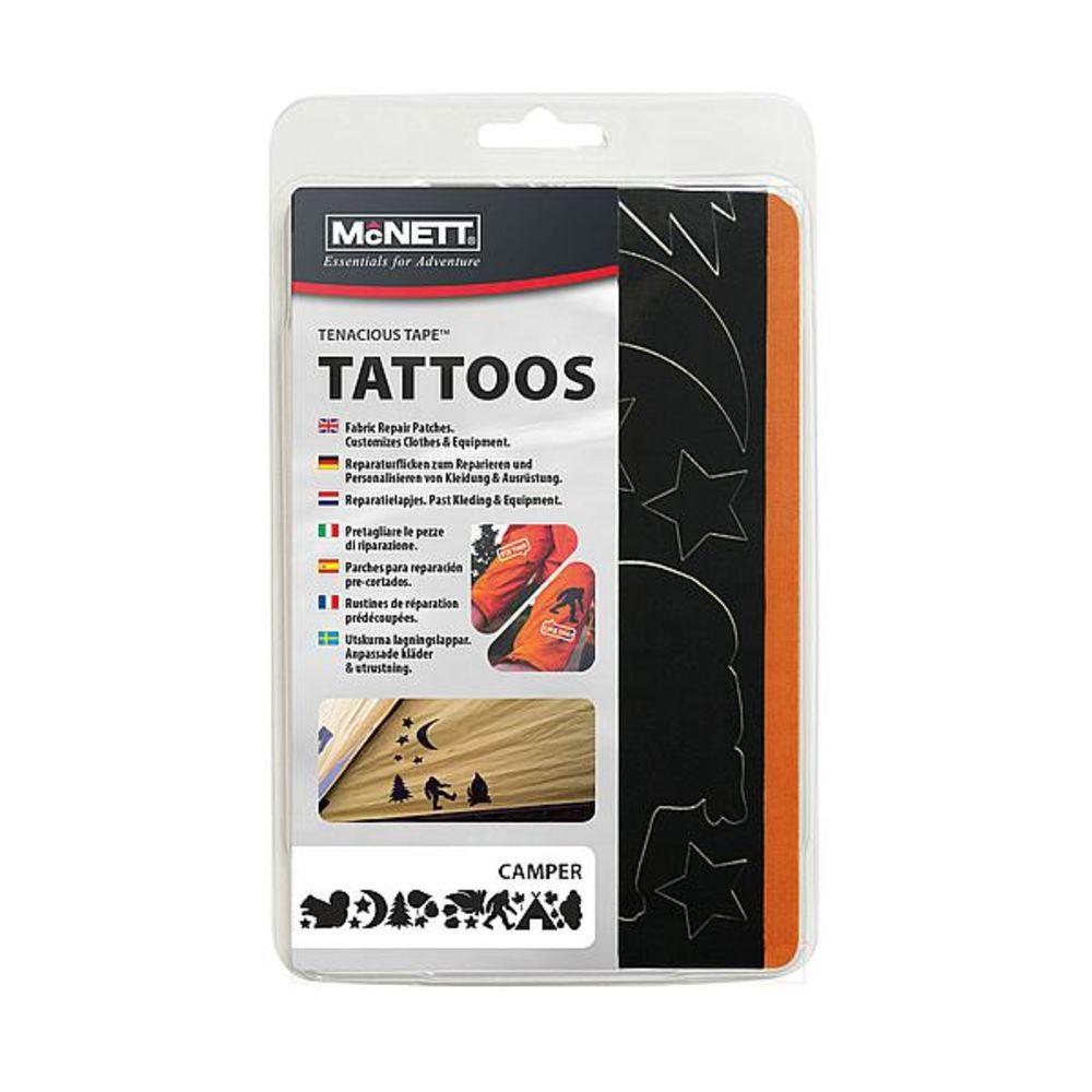 Набор патчей McNett Tenacious Repair Tape Tattoos Camper
