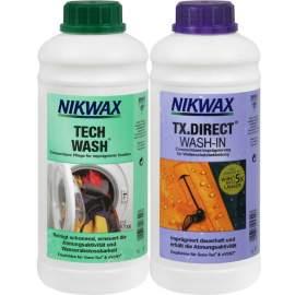 Набір Nikwax Twin Pack (Tech wash 1 л + TX Direct 1 л)