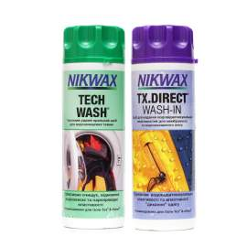 Набор Nikwax Twin Pack (Tech wash 300 мл + TX Direct 300 мл)