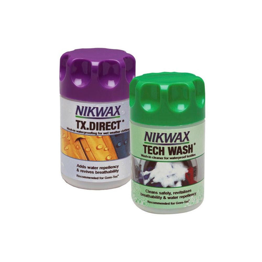 Набор Nikwax Twin Pack (Tech wash 150 мл + TX Direct 100 мл)