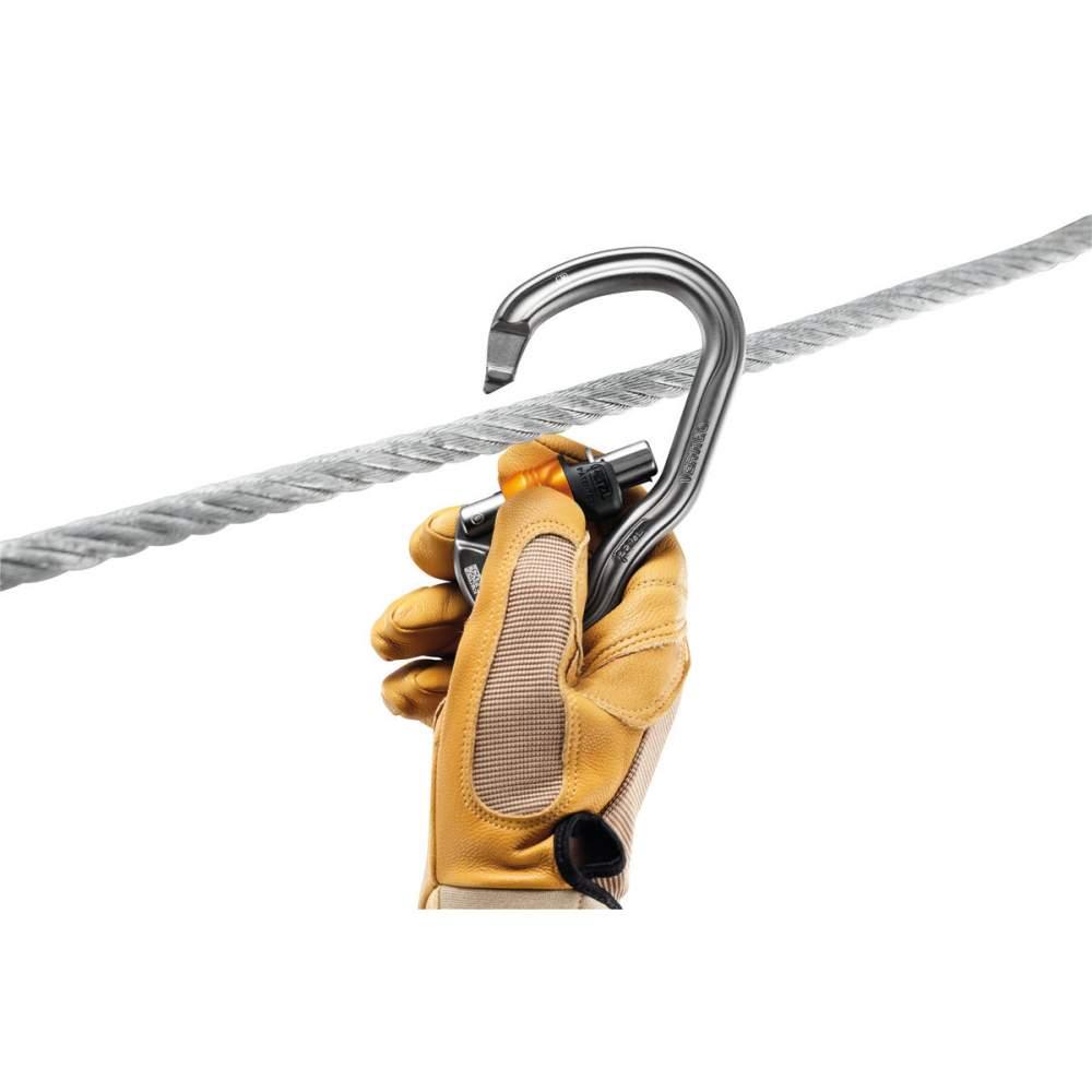 Карабин Petzl Vertigo Wire-Lock