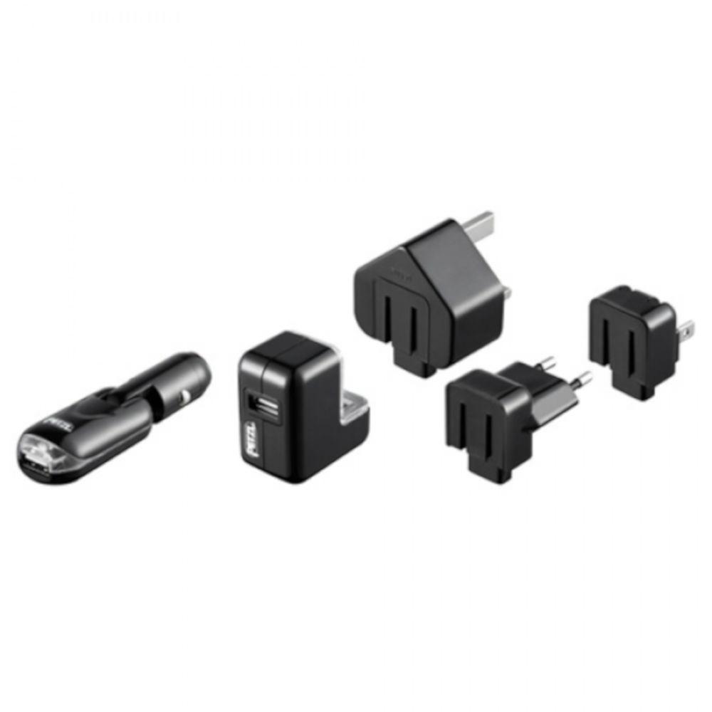 Зарядний пристрій Petzl Core USB/US/GB/12V