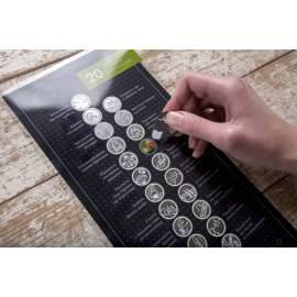 """Скретч-открытка Pinzel """"20 справ, які потрібно зробити в горах"""" (Black)"""
