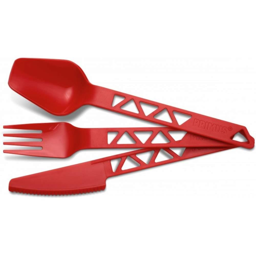 Столовий набір Primus Lightweight TrailCutlery Red