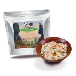 Рис з овочами вегетаріанський James Cook