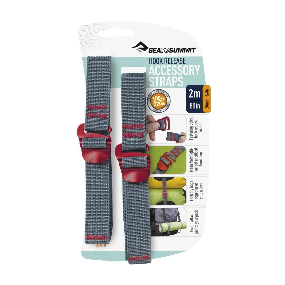 Стяжка Sea to Summit Accessory Strap with Hook Buckle 20mm - 2.0 m