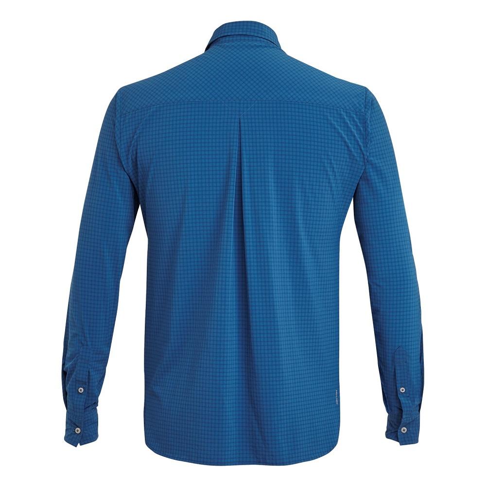 Сорочка Salewa Puez Minicheck Dry L/S Mens Shirt