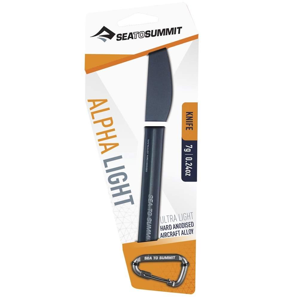 Ніж Sea to Summit Alpha Light Knife Grey Anodised