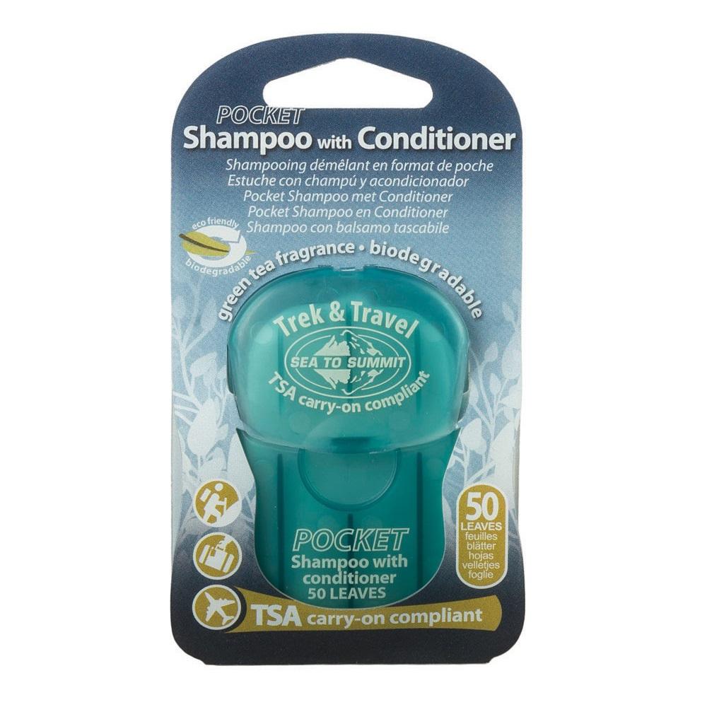 Шампунь Sea to Summit Trek & Travel Pocket Conditioning Shampoo 50 Leaf