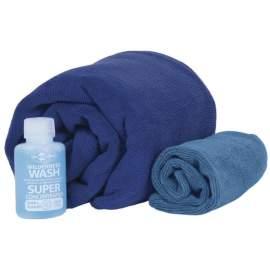 Набір рушники та шампунь Sea to Summit Tek Towel Wash Kit L