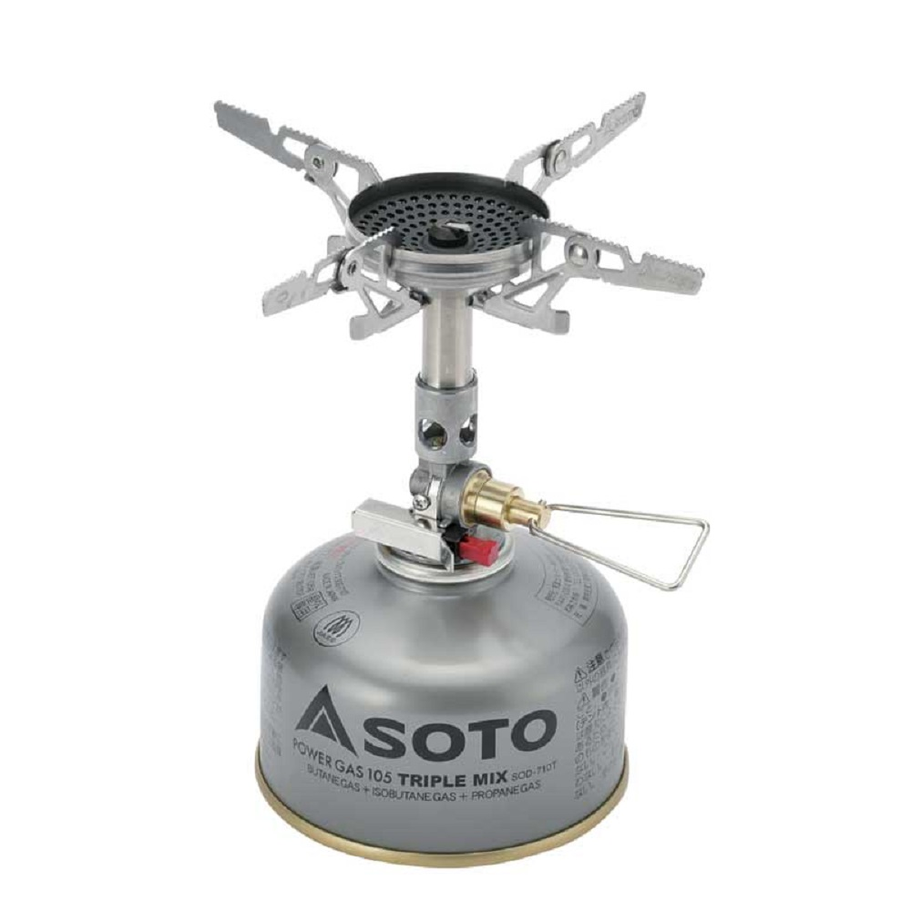 Горелка газовая Soto WindMaster with 4Flex