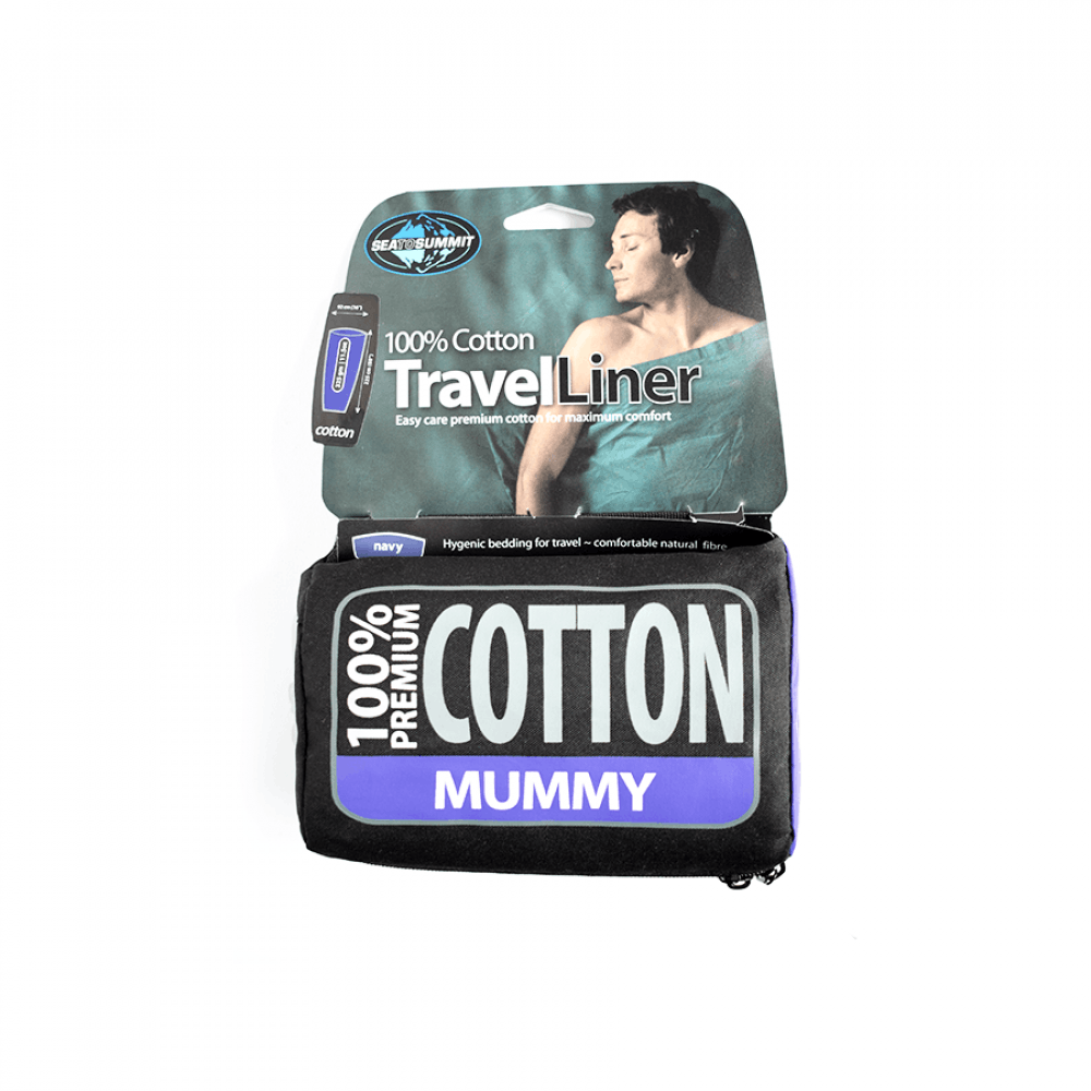 Вкладыш к спальнику Sea to Summit Cotton Travel Liner Mummy