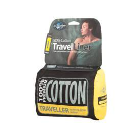 Вкладиш до спальника Sea to Summit Cotton Travel Liner Traveller (with Pillow slip)