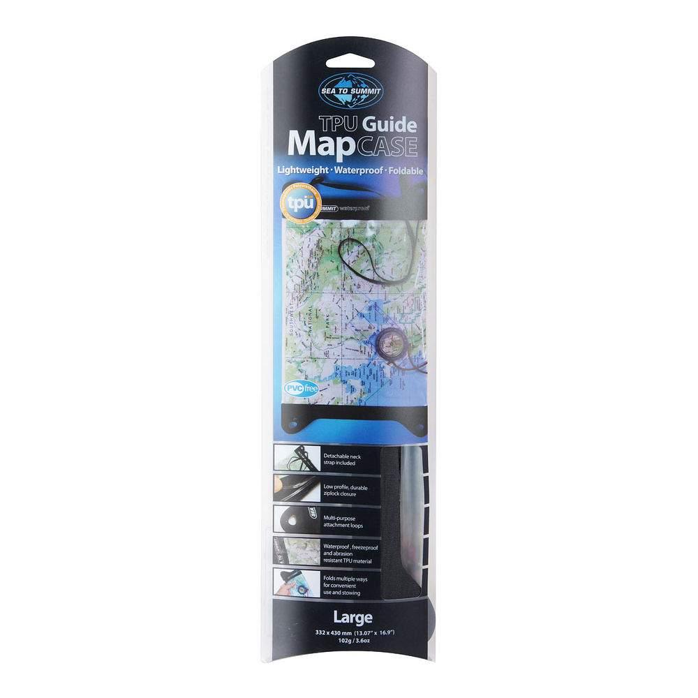 Чехол водозащитный для карты Sea to Summit TPU Guide Map Case Medium