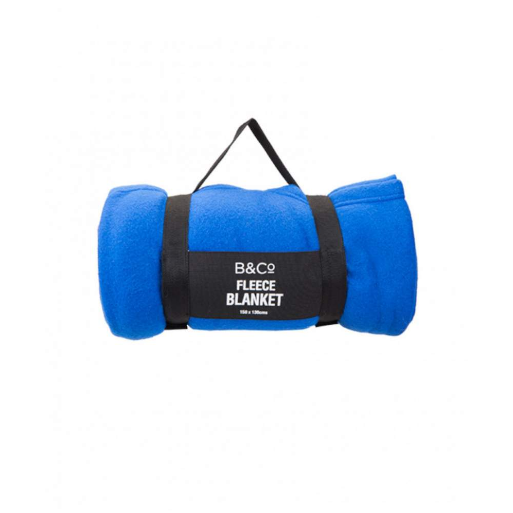 Плед Summit B&Co Fleece Blanket With Carry Handle
