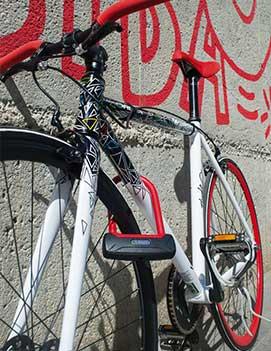 Замки для велосипеда