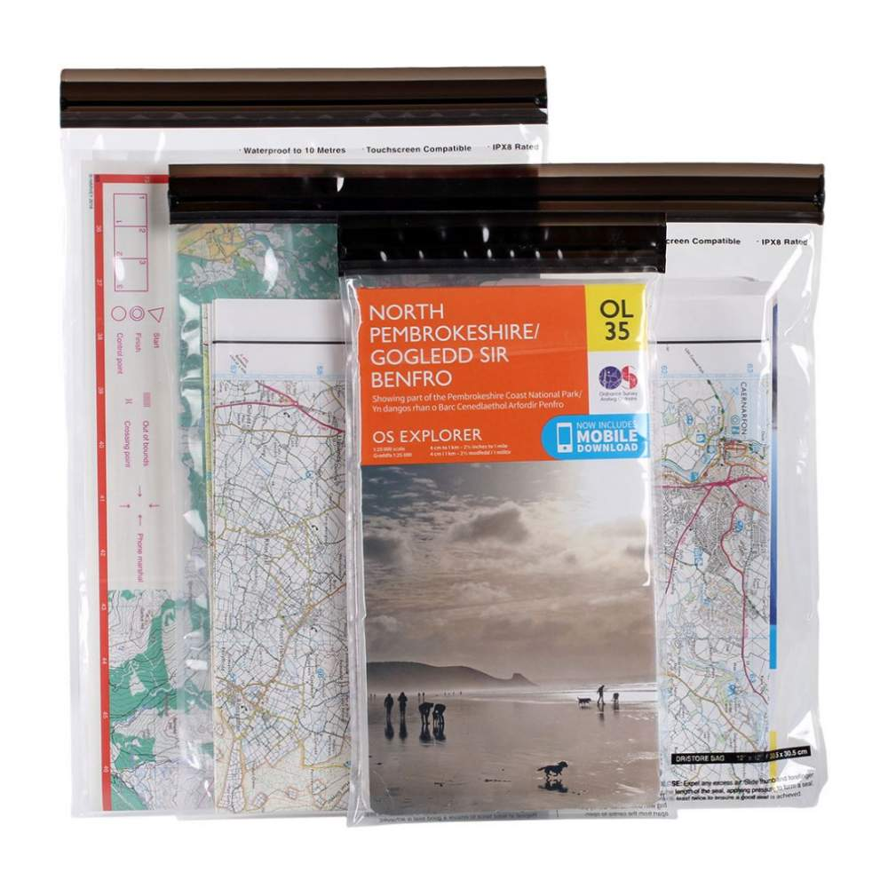 Комплект чехлов Lifeventure DriStore LocTop Bags Maps