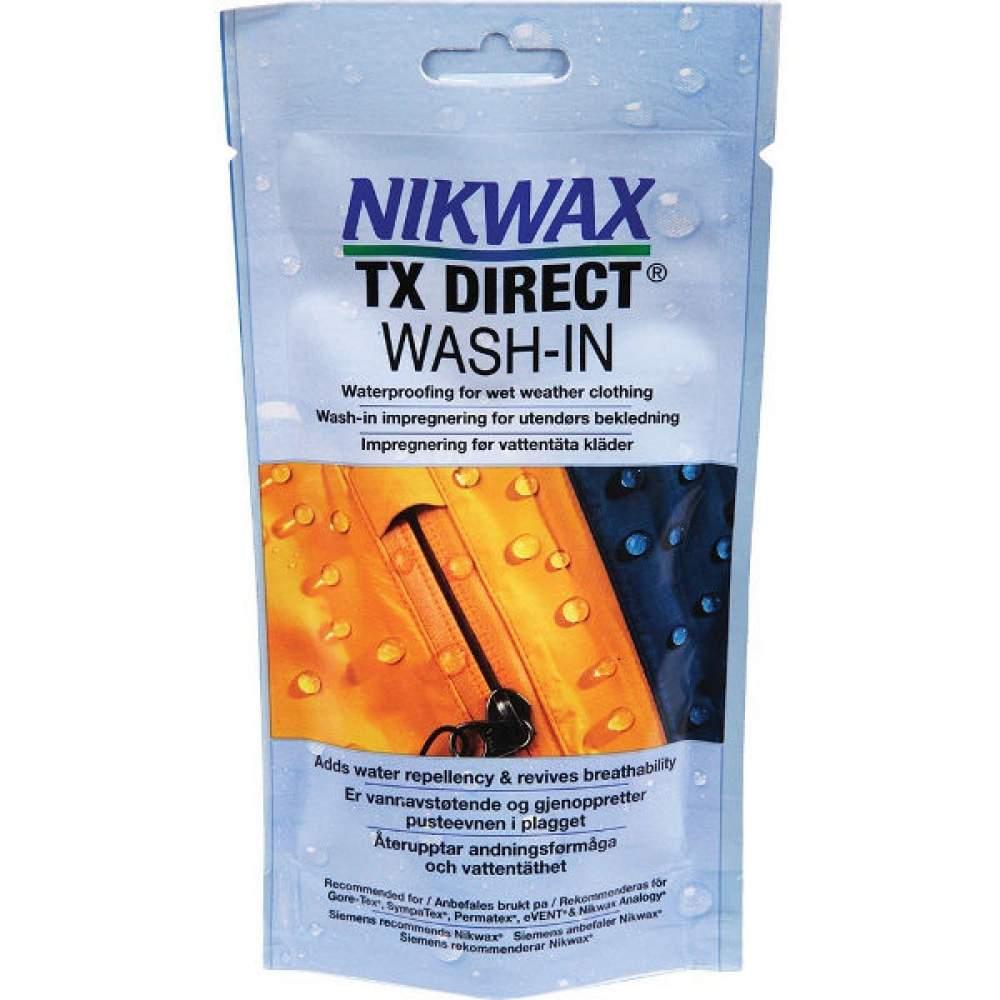 Водовідштовхуючий засіб Nikwax Tx.Direct Wash-In 100 мл