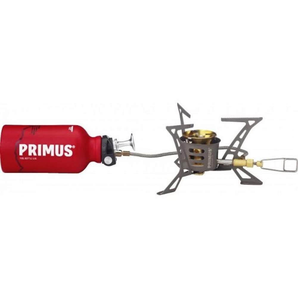 Мультипаливний пальник Primus OmniLite TI з Fuel Bottle