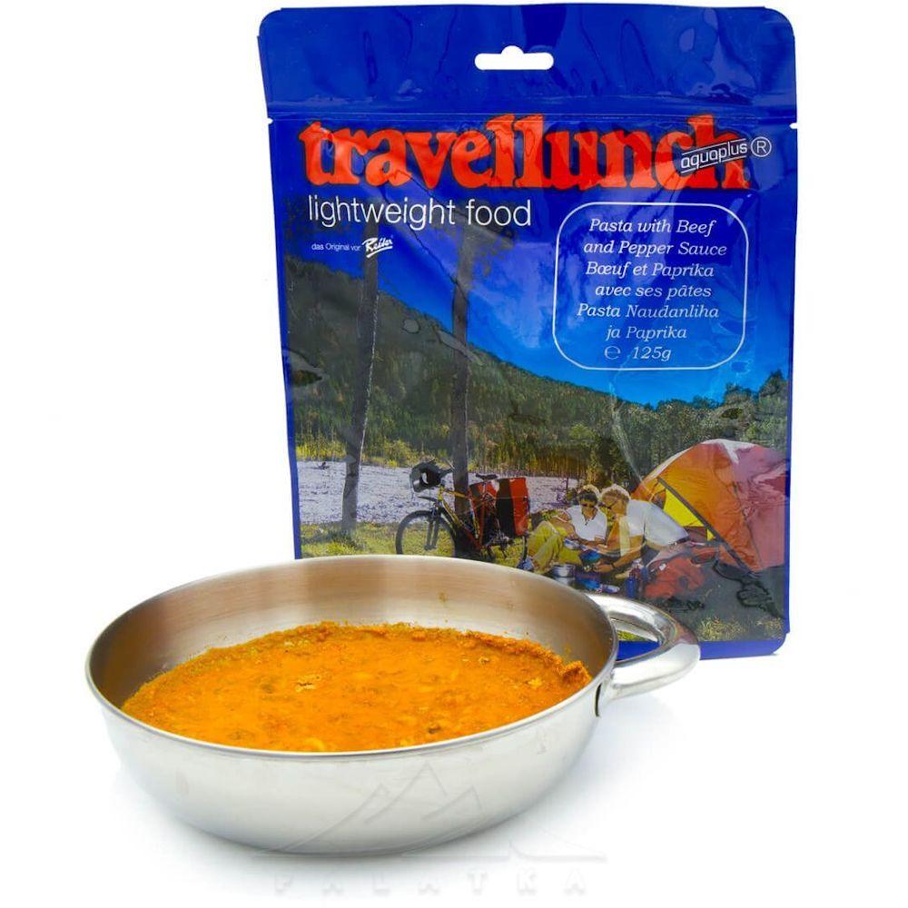Сублимированная еда Travellunch Паста с говядиной и перцем 250 г