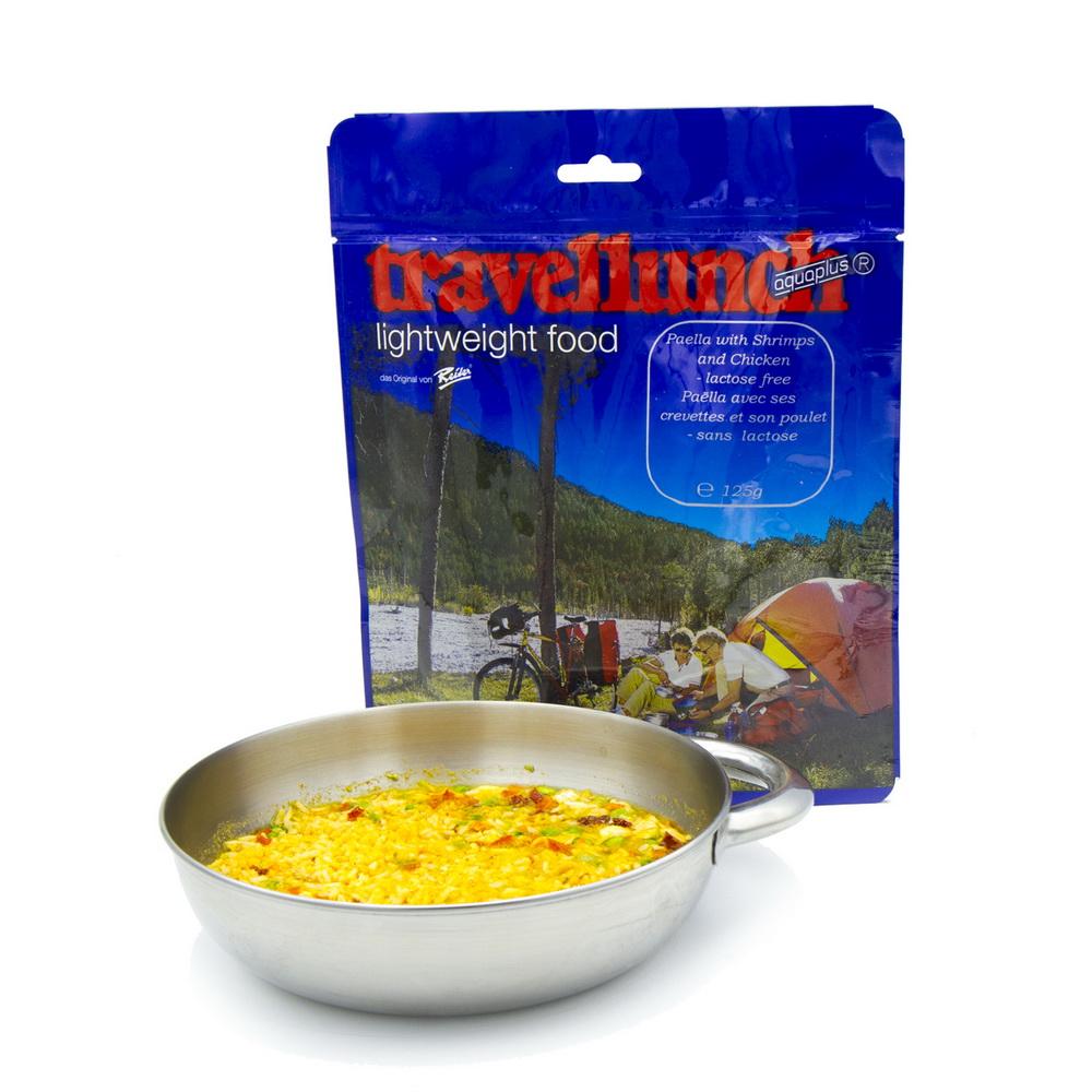 Сублімована їжа Travellunch Паелья з креветками та куркою 125 г