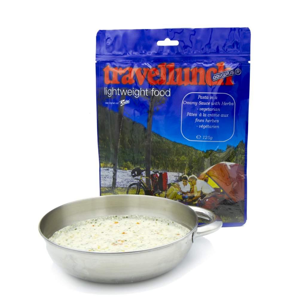 Сублімована їжа Travellunch Паста у вершковому соусі з травами 250 г (2 порції)