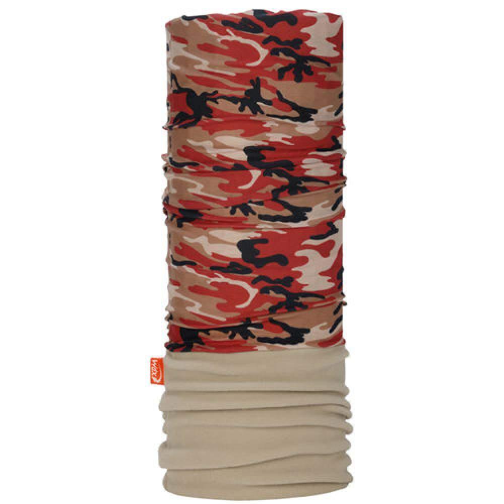 Повязка Wind x-treme Polarwind Camouflage red